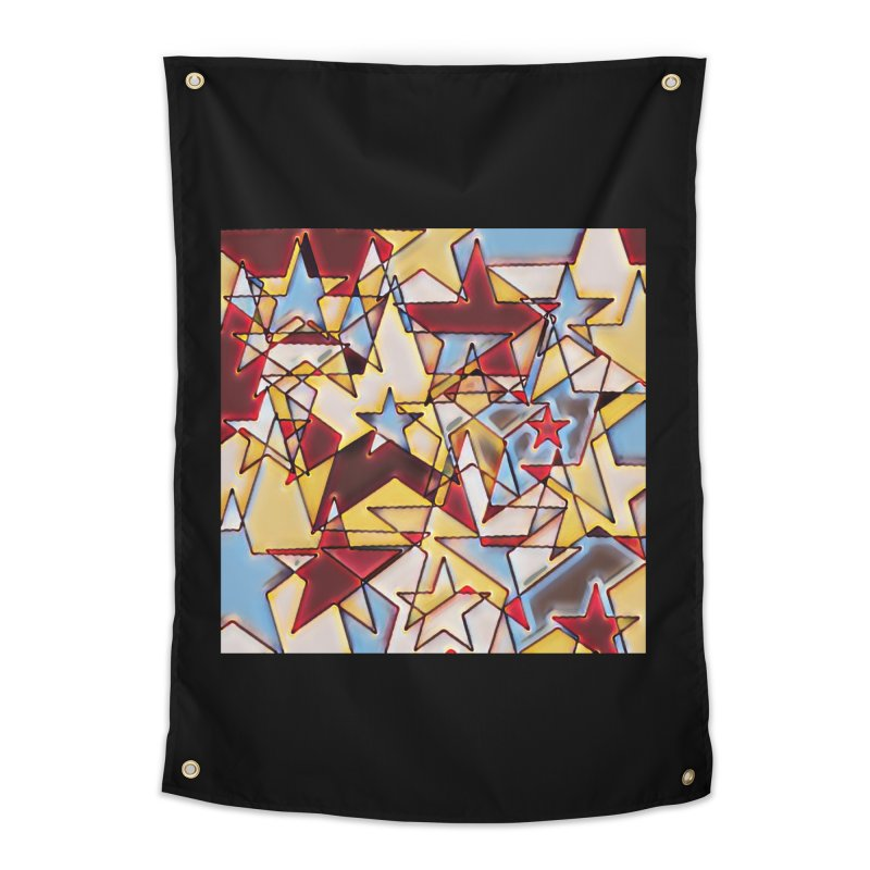 Stars Home Tapestry by Tee Panic T-Shirt Shop by Muzehack