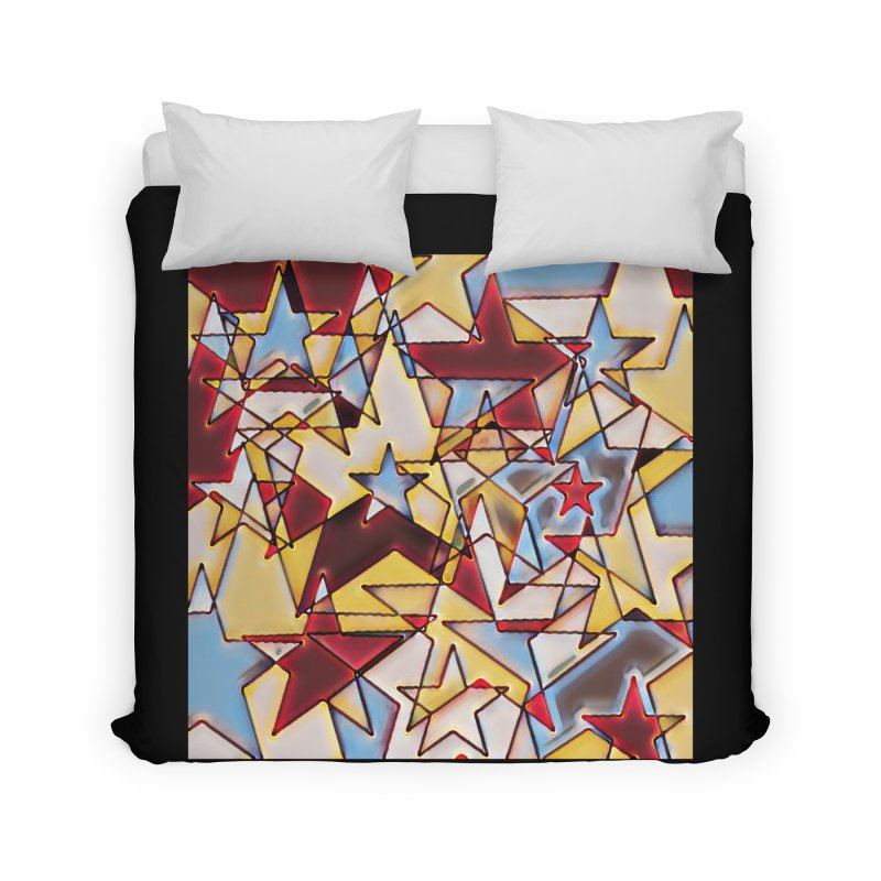 Stars Home Duvet by Tee Panic T-Shirt Shop by Muzehack