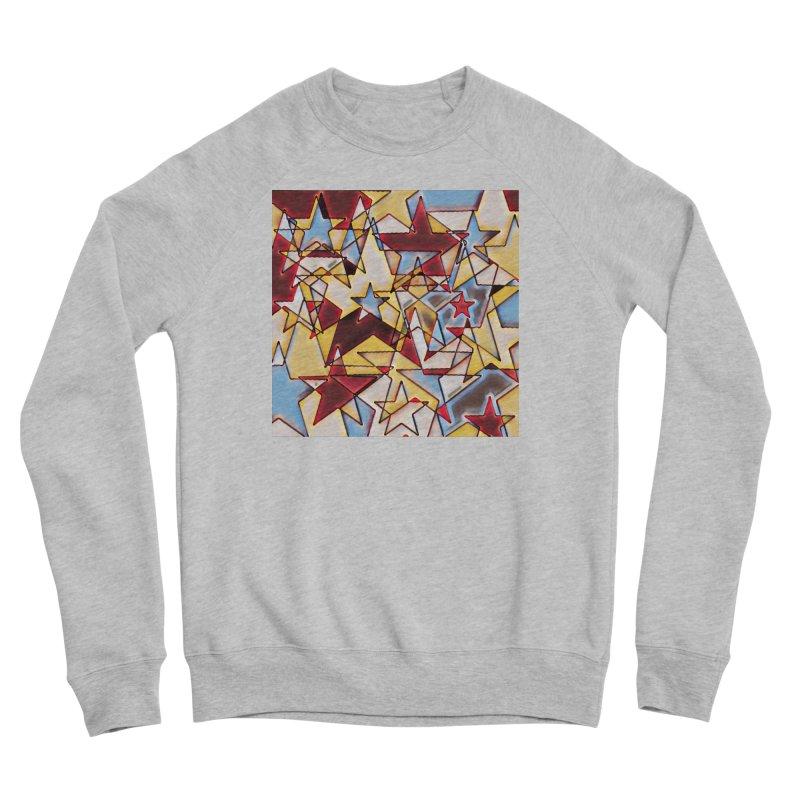 Stars Men's Sponge Fleece Sweatshirt by Tee Panic T-Shirt Shop by Muzehack