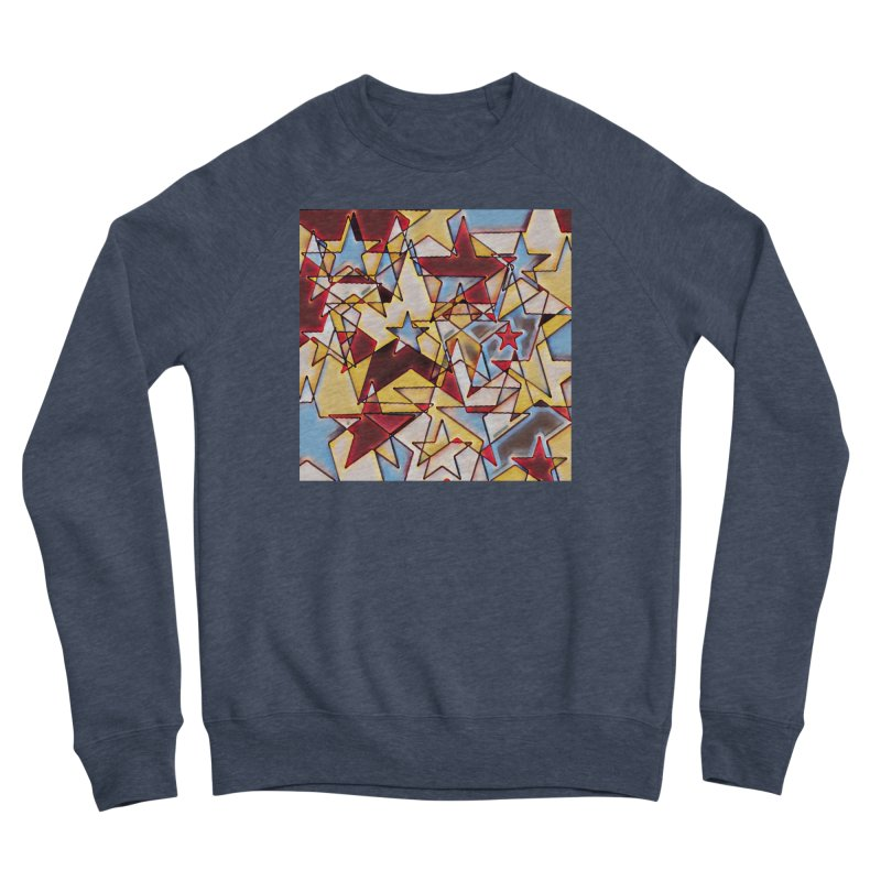 Stars Women's Sponge Fleece Sweatshirt by Tee Panic T-Shirt Shop by Muzehack