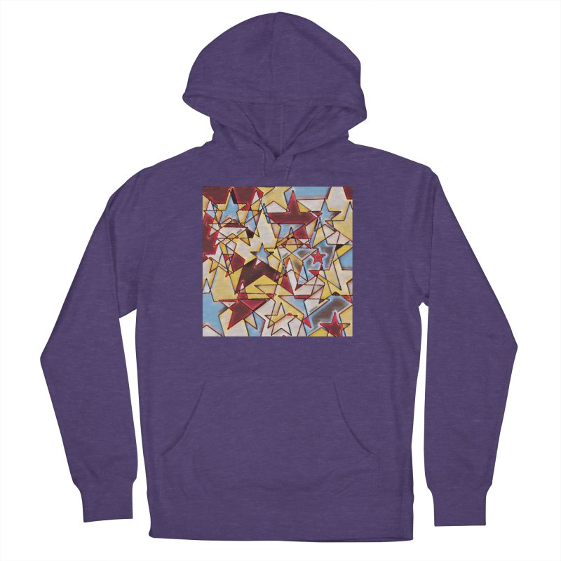 Stars Men's French Terry Pullover Hoody by Tee Panic T-Shirt Shop by Muzehack