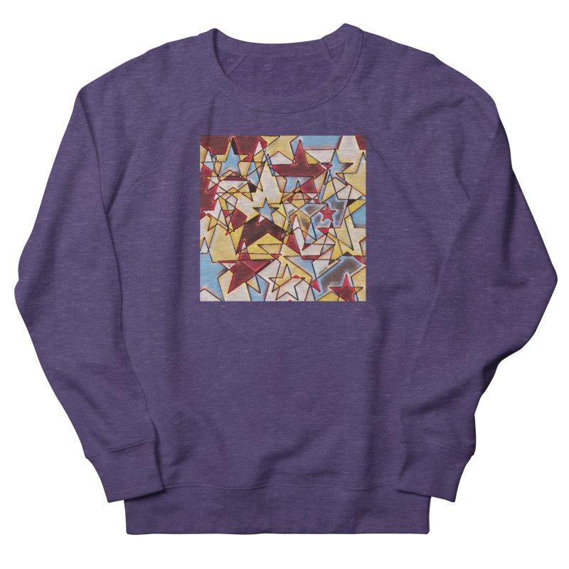 Stars Women's French Terry Sweatshirt by Tee Panic T-Shirt Shop by Muzehack