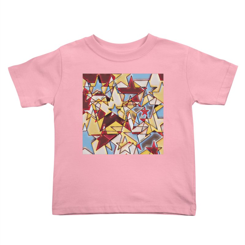 Stars Kids Toddler T-Shirt by Tee Panic T-Shirt Shop by Muzehack