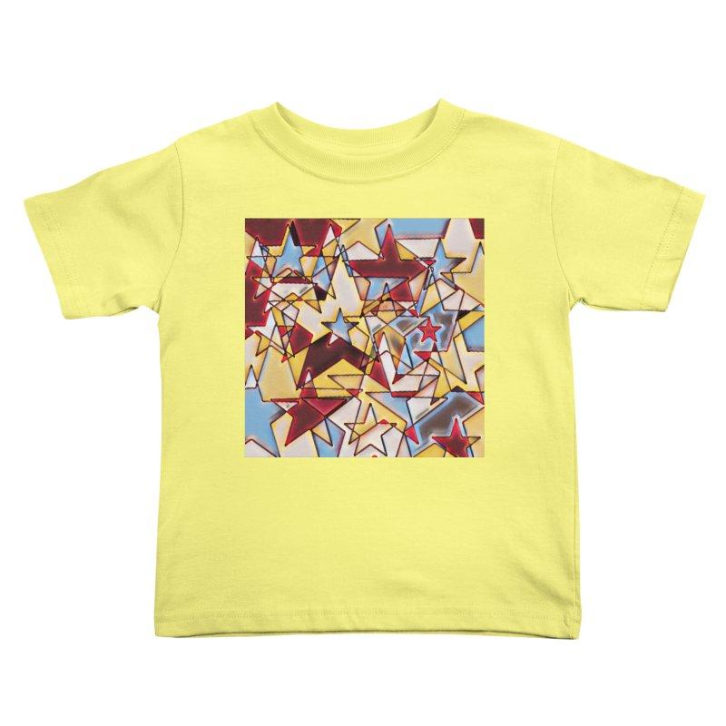 Stars Kids Toddler T-Shirt by Tee Panic T-Shirt Shop by Muzehack