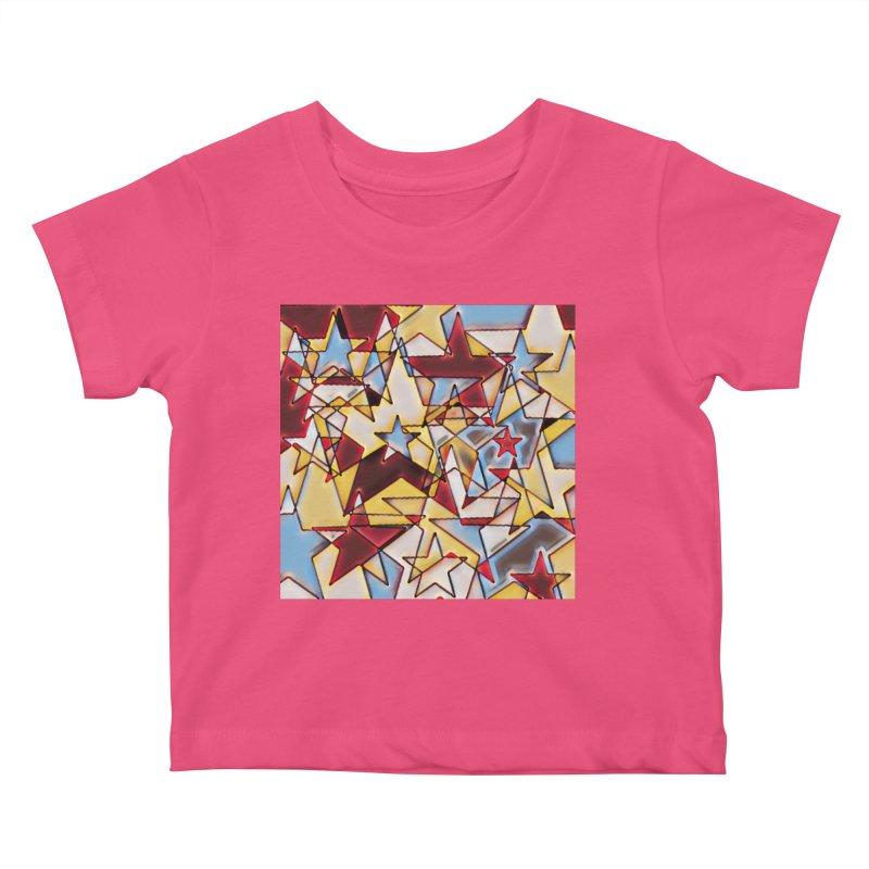 Stars Kids Baby T-Shirt by Tee Panic T-Shirt Shop by Muzehack