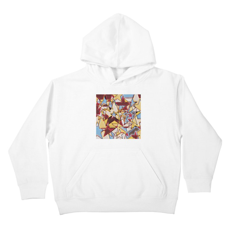 Stars Kids Pullover Hoody by Tee Panic T-Shirt Shop by Muzehack