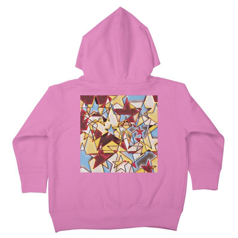 Stars Kids Toddler Zip-Up Hoody by Tee Panic T-Shirt Shop by Muzehack