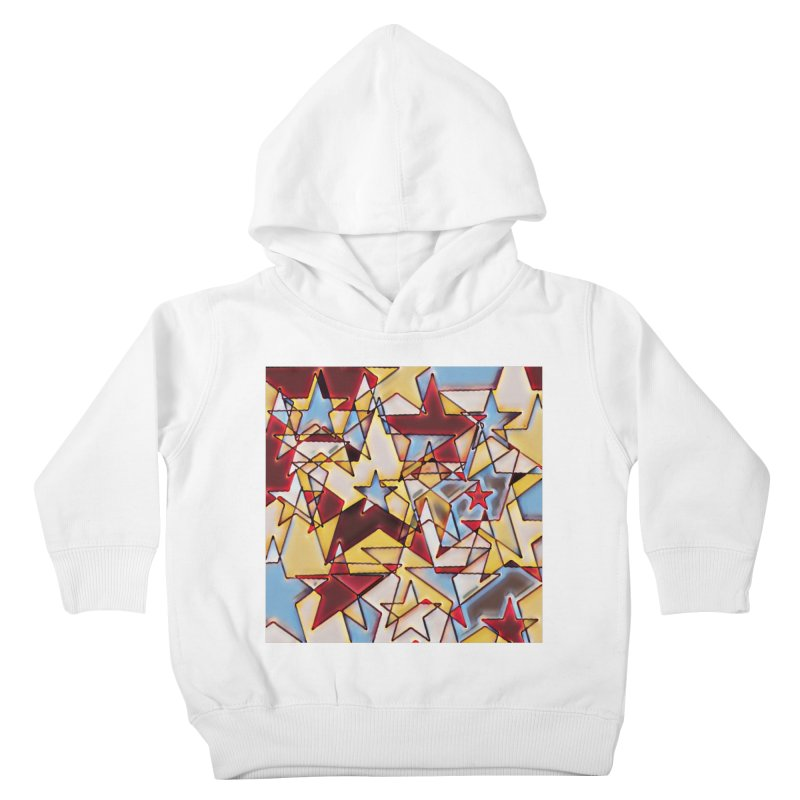 Stars Kids Toddler Pullover Hoody by Tee Panic T-Shirt Shop by Muzehack