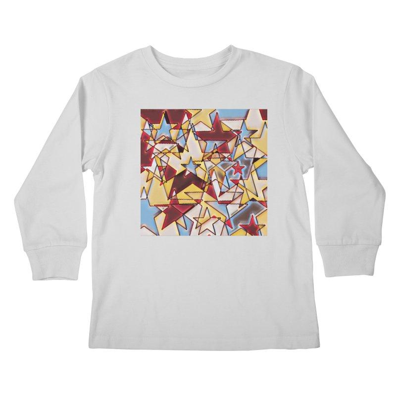 Stars Kids Longsleeve T-Shirt by Tee Panic T-Shirt Shop by Muzehack