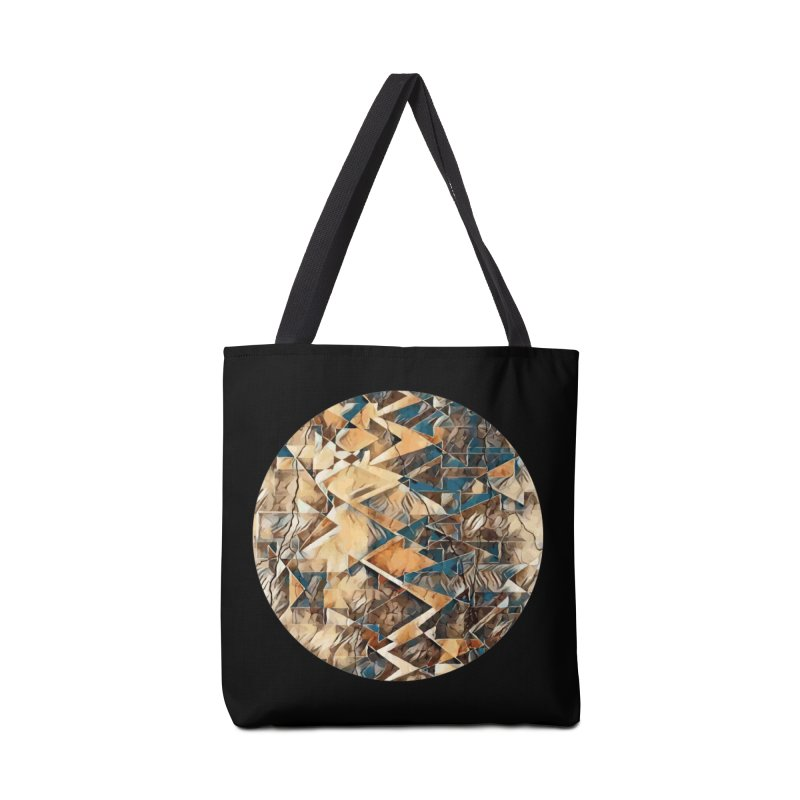 Opposing Forces Abstract Design Accessories Bag by Tee Panic T-Shirt Shop by Muzehack