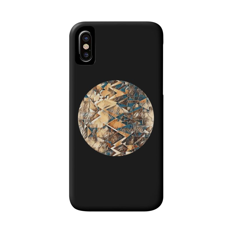 Opposing Forces Abstract Design Accessories Phone Case by Tee Panic T-Shirt Shop by Muzehack