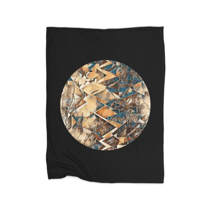 Opposing Forces Abstract Design Home Blanket by Tee Panic T-Shirt Shop by Muzehack