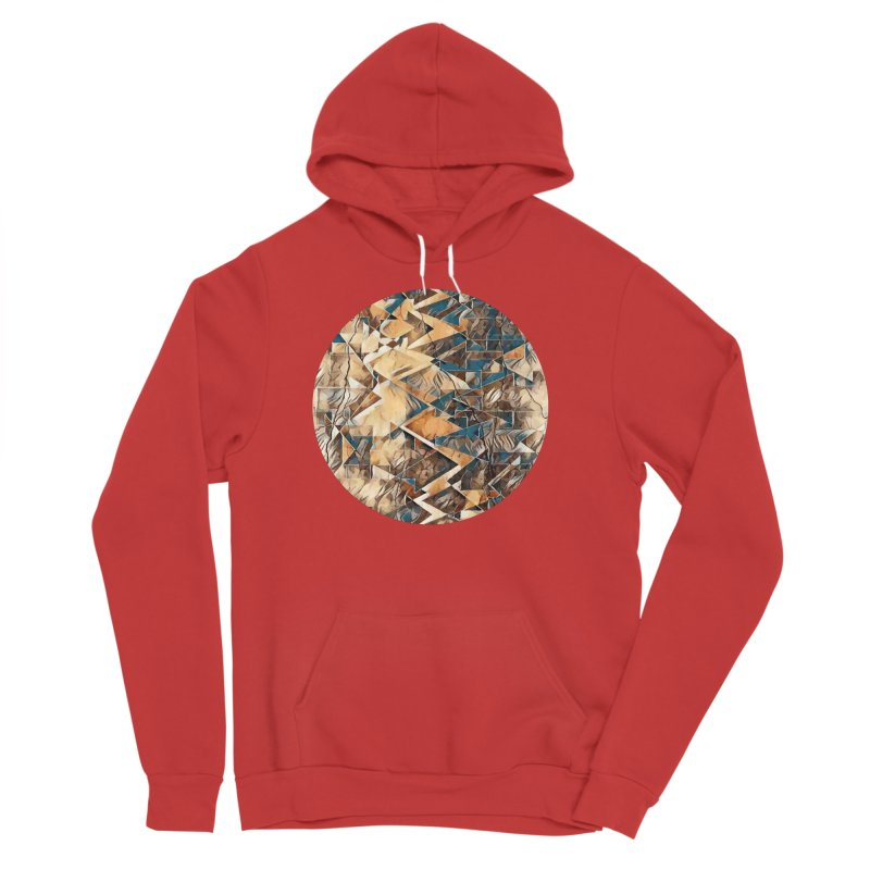 Opposing Forces Abstract Design Men's Sponge Fleece Pullover Hoody by Tee Panic T-Shirt Shop by Muzehack
