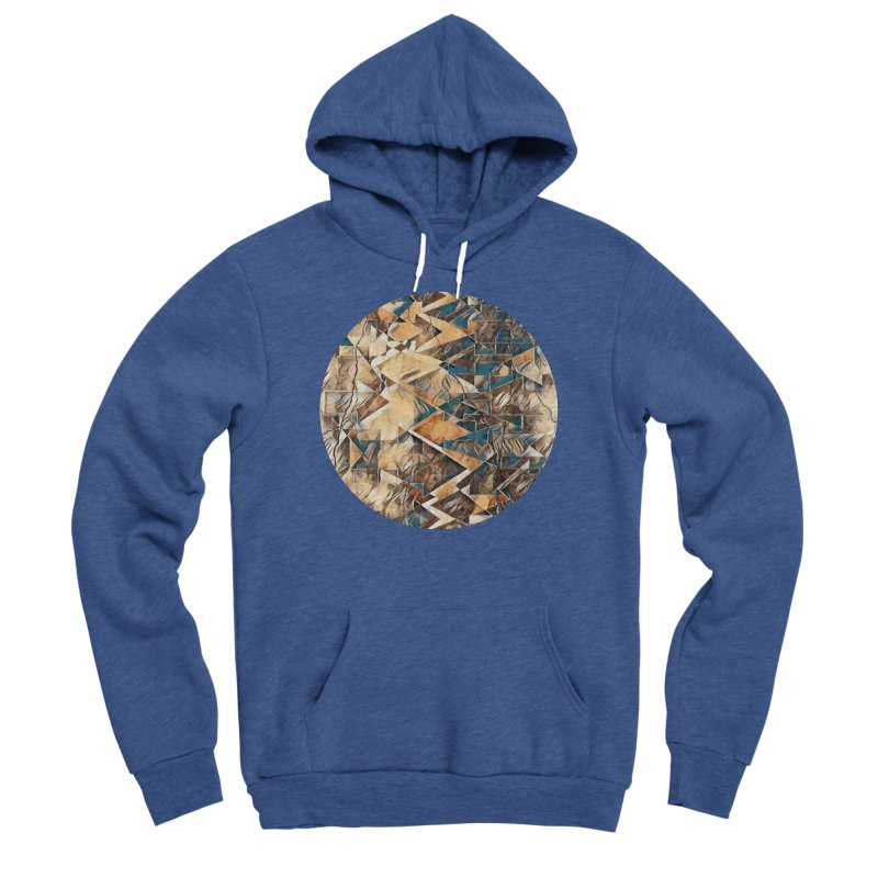 Opposing Forces Abstract Design Women's Sponge Fleece Pullover Hoody by Tee Panic T-Shirt Shop by Muzehack
