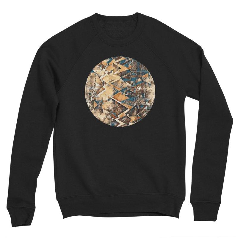 Opposing Forces Abstract Design Women's Sponge Fleece Sweatshirt by Tee Panic T-Shirt Shop by Muzehack