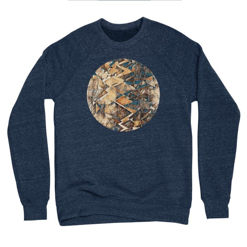 Opposing Forces Abstract Design Men's Sponge Fleece Sweatshirt by Tee Panic T-Shirt Shop by Muzehack