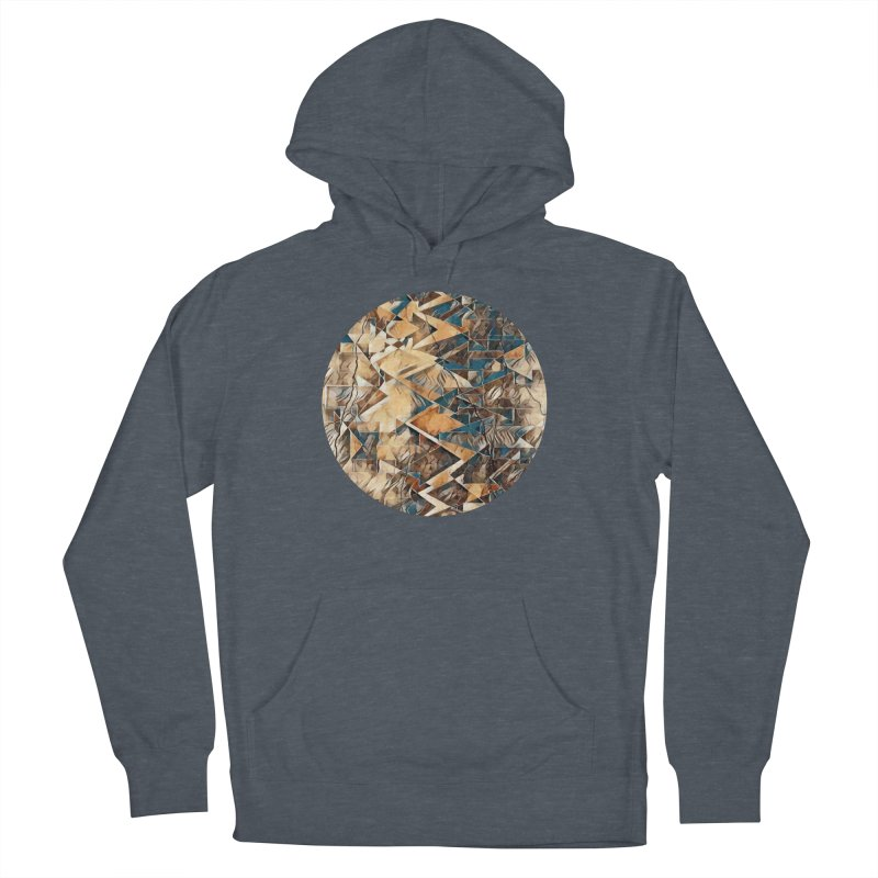 Opposing Forces Abstract Design Men's French Terry Pullover Hoody by Tee Panic T-Shirt Shop by Muzehack