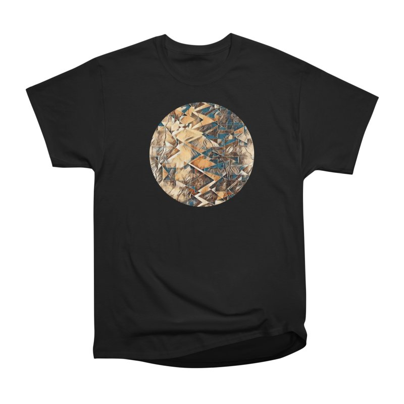 Opposing Forces Abstract Design Women's Heavyweight Unisex T-Shirt by Tee Panic T-Shirt Shop by Muzehack