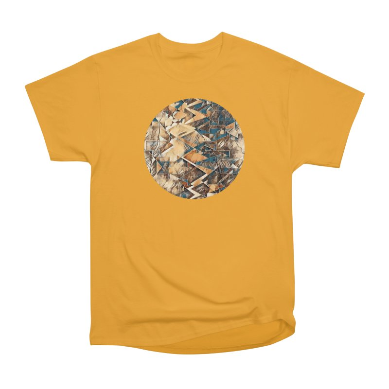 Opposing Forces Abstract Design Men's Heavyweight T-Shirt by Tee Panic T-Shirt Shop by Muzehack