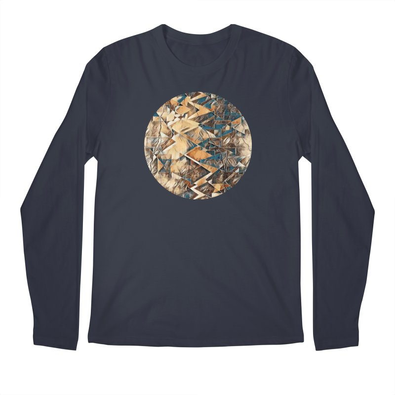Opposing Forces Abstract Design Men's Regular Longsleeve T-Shirt by Tee Panic T-Shirt Shop by Muzehack