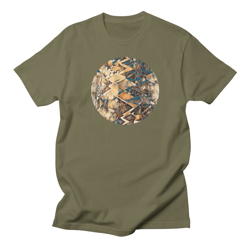 Opposing Forces Abstract Design Men's Regular T-Shirt by Tee Panic T-Shirt Shop by Muzehack