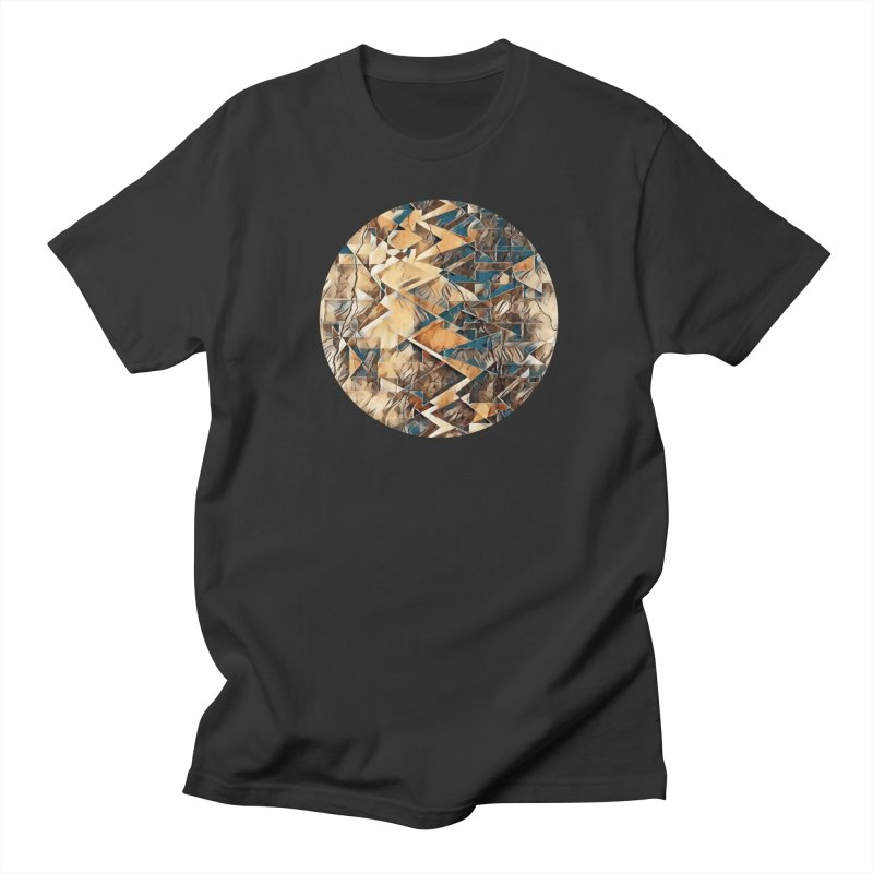 Opposing Forces Abstract Design Women's Regular Unisex T-Shirt by Tee Panic T-Shirt Shop by Muzehack