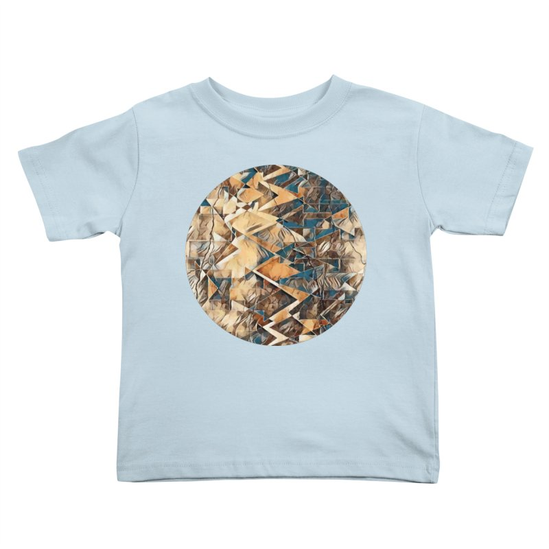 Opposing Forces Abstract Design Kids Toddler T-Shirt by Tee Panic T-Shirt Shop by Muzehack
