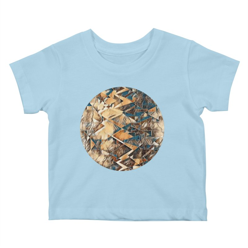 Opposing Forces Abstract Design Kids Baby T-Shirt by Tee Panic T-Shirt Shop by Muzehack