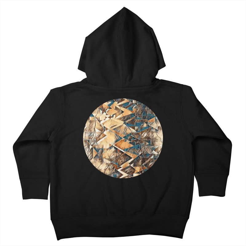 Opposing Forces Abstract Design Kids Toddler Zip-Up Hoody by Tee Panic T-Shirt Shop by Muzehack