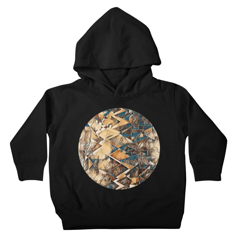 Opposing Forces Abstract Design Kids Toddler Pullover Hoody by Tee Panic T-Shirt Shop by Muzehack