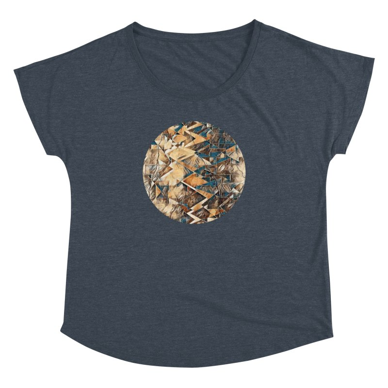 Opposing Forces Abstract Design Women's Dolman Scoop Neck by Tee Panic T-Shirt Shop by Muzehack