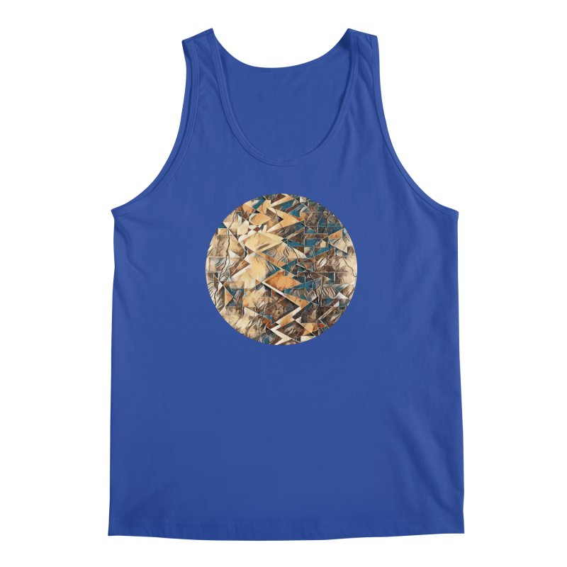 Opposing Forces Abstract Design Men's Regular Tank by Tee Panic T-Shirt Shop by Muzehack