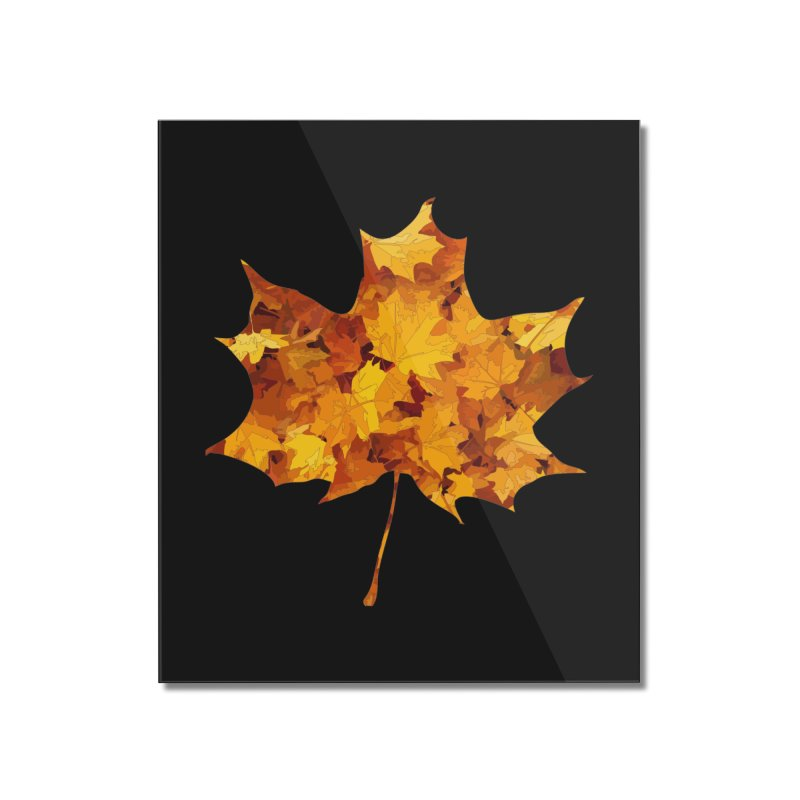 Autumn Colors Home Mounted Acrylic Print by Tee Panic T-Shirt Shop by Muzehack