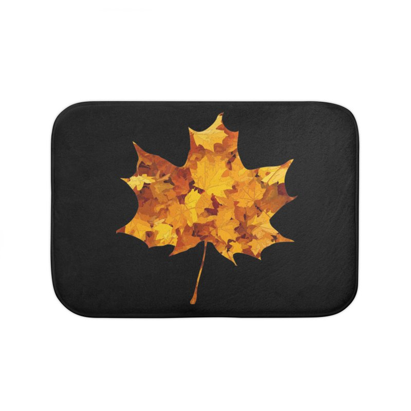 Autumn Colors Home Bath Mat by Tee Panic T-Shirt Shop by Muzehack