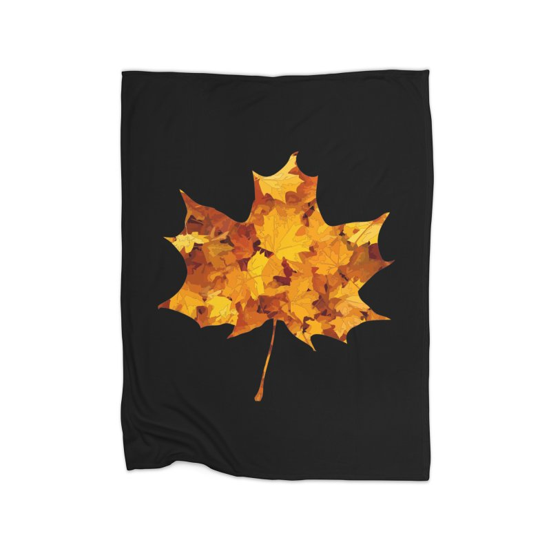 Autumn Colors Home Blanket by Tee Panic T-Shirt Shop by Muzehack