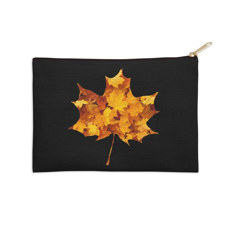 Autumn Colors Accessories Zip Pouch by Tee Panic T-Shirt Shop by Muzehack