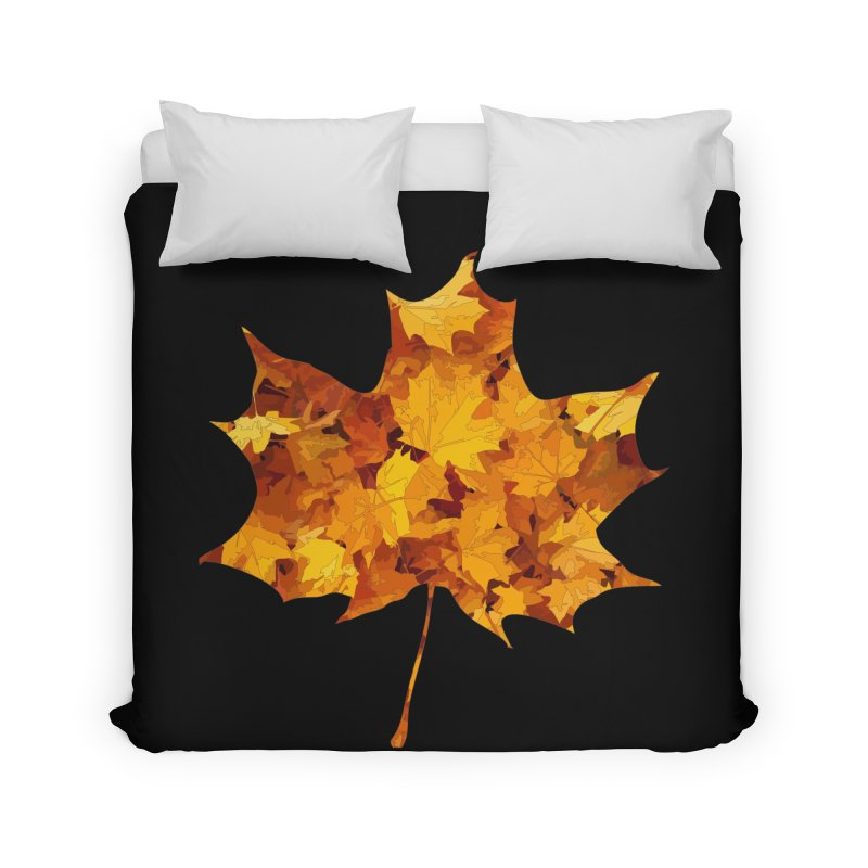 Autumn Colors Home Duvet by Tee Panic T-Shirt Shop by Muzehack
