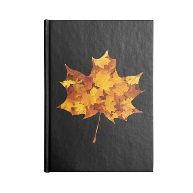 Autumn Colors Accessories Notebook by Tee Panic T-Shirt Shop by Muzehack