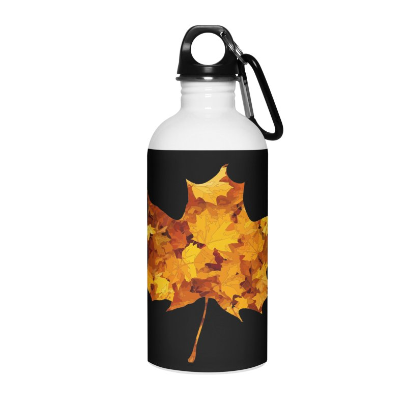 Autumn Colors Accessories Water Bottle by Tee Panic T-Shirt Shop by Muzehack
