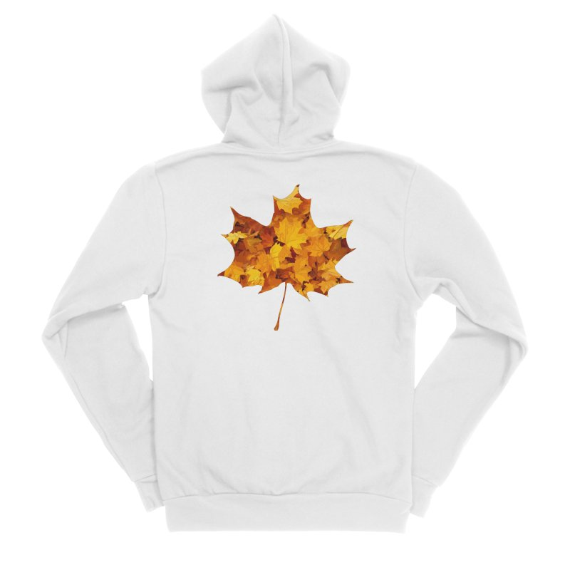 Autumn Colors Women's Sponge Fleece Zip-Up Hoody by Tee Panic T-Shirt Shop by Muzehack