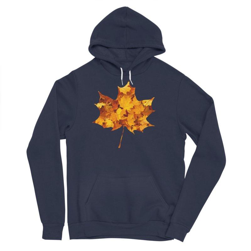 Autumn Colors Men's Sponge Fleece Pullover Hoody by Tee Panic T-Shirt Shop by Muzehack