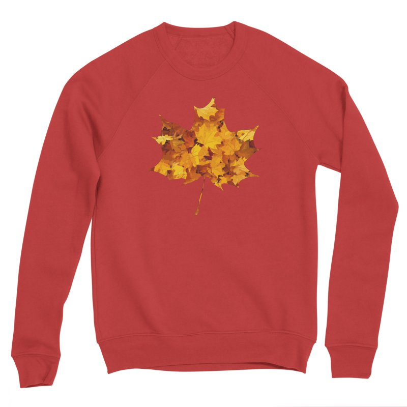 Autumn Colors Men's Sponge Fleece Sweatshirt by Tee Panic T-Shirt Shop by Muzehack