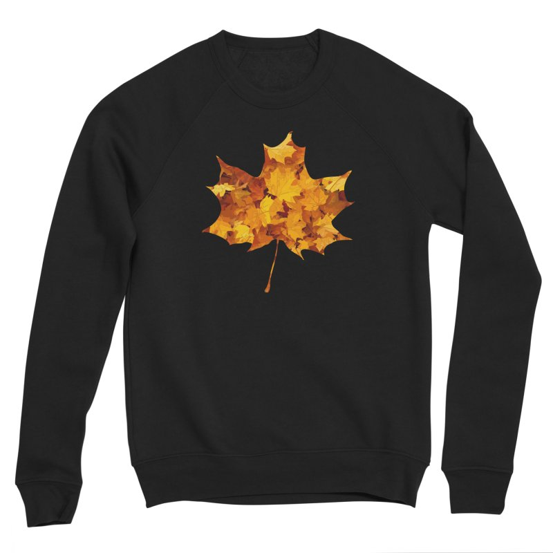 Autumn Colors Men's Sponge Fleece Sweatshirt by Tee Panic T-Shirt Shop by Muzehack