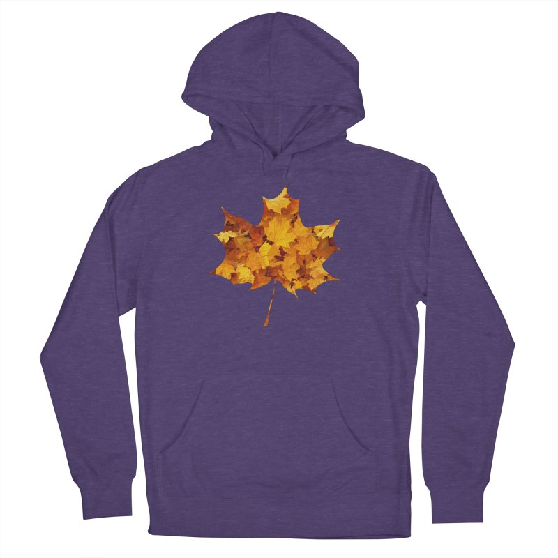Autumn Colors Women's French Terry Pullover Hoody by Tee Panic T-Shirt Shop by Muzehack