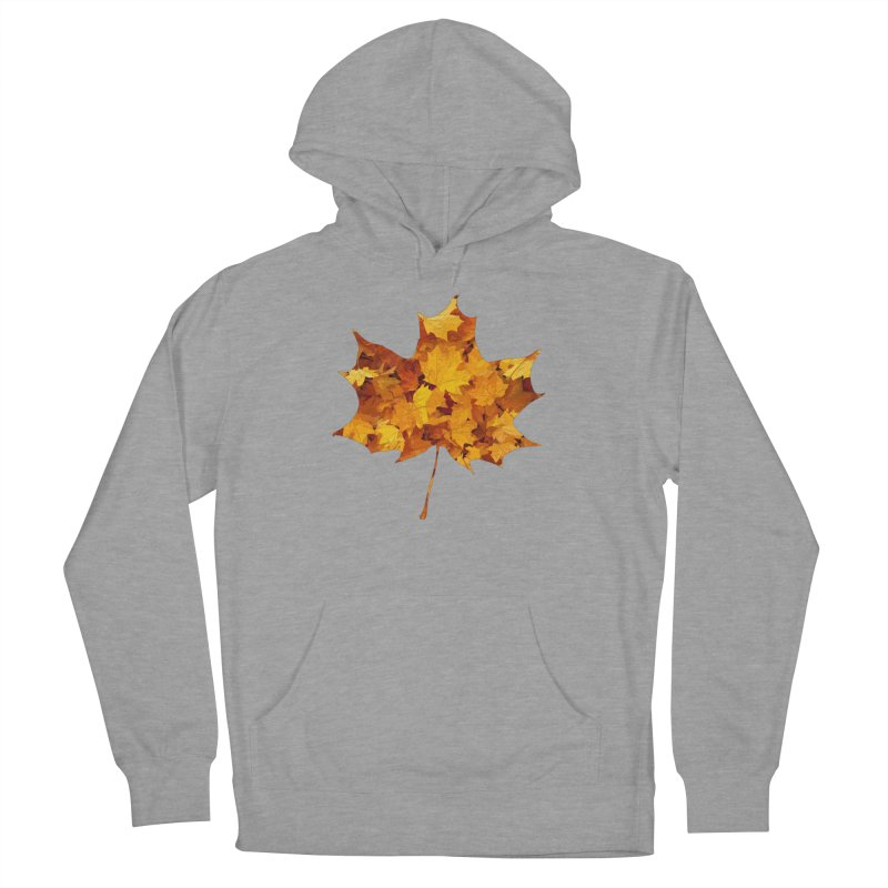 Autumn Colors Men's French Terry Pullover Hoody by Tee Panic T-Shirt Shop by Muzehack