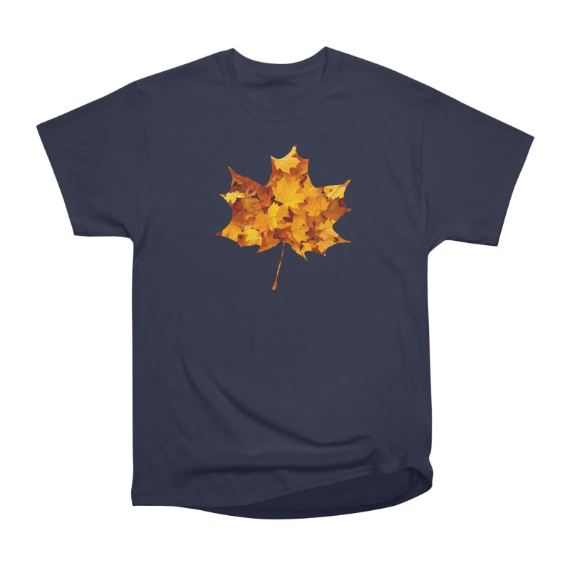Autumn Colors Men's Heavyweight T-Shirt by Tee Panic T-Shirt Shop by Muzehack