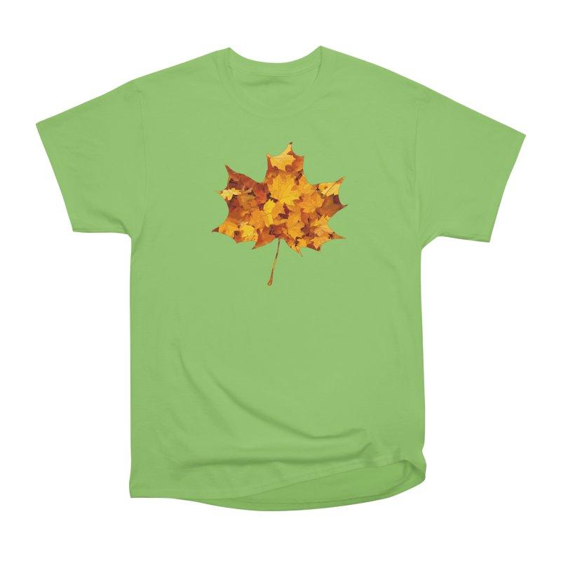 Autumn Colors Men's Heavyweight T-Shirt by Tee Panic T-Shirt Shop by Muzehack