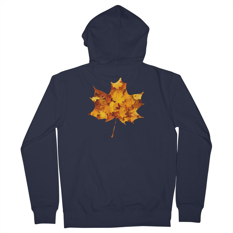 Autumn Colors Women's French Terry Zip-Up Hoody by Tee Panic T-Shirt Shop by Muzehack