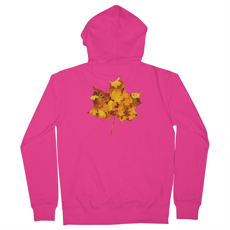 Autumn Colors Men's French Terry Zip-Up Hoody by Tee Panic T-Shirt Shop by Muzehack