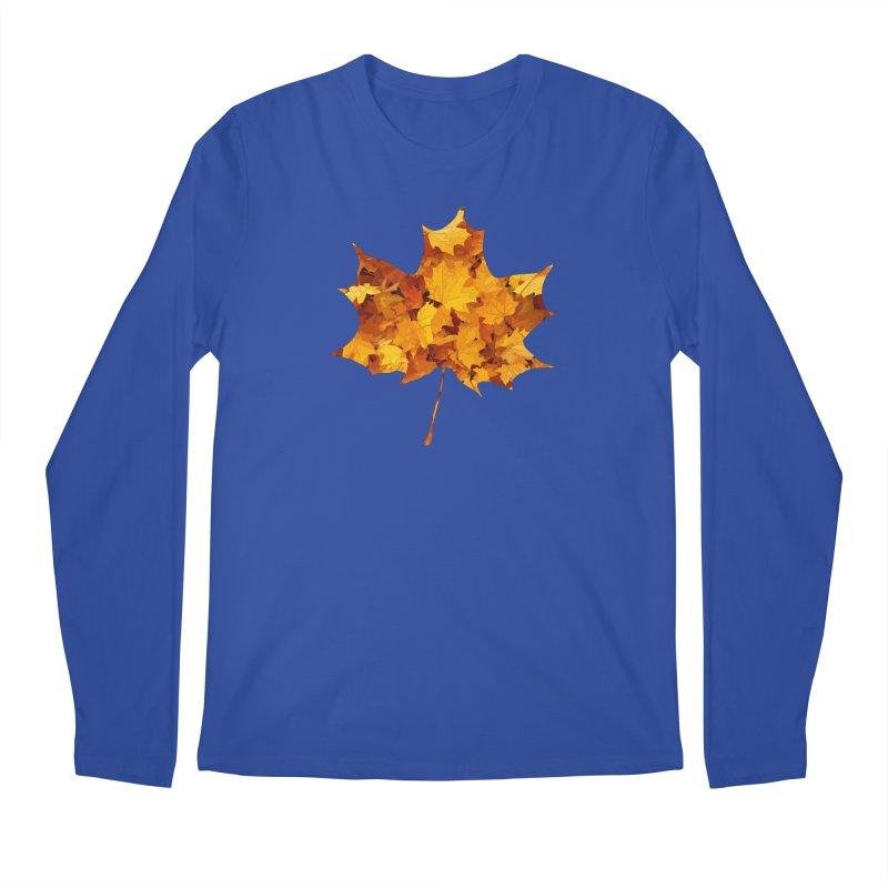 Autumn Colors Men's Regular Longsleeve T-Shirt by Tee Panic T-Shirt Shop by Muzehack
